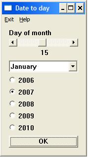 Using DISLIN to make a GUI